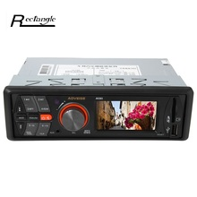 MP3 Audio Player Car Stereo FM Radio AV283A 24V Vehicle Electronics In-dash with USB / SD Port Support Breakpoints And ID3 Play