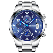 KINYUED Swiss Blue trend watch military high-grade students waterproof luminous factory direct supply(China)