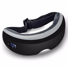 Wireless Digital Eye Massager with Heat Compression Air Pressure Music & Eye Care Stress Relief goggles masajeador de ojos(China)