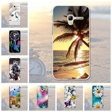 "Silicon Shell Back Cover For Alcatel One Touch Pop 3 5"" Case For Alcatel Pop 3 5.0"" 5015 5015D 5065A 5016A Fundas Cover Bags"