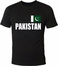 New 2017 Fashion Hot T-Shirt Summer Style Funny Pakistan Flag T-Shirt Casual Short Sleeve For Men Clothing Summer