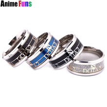 4 color Game Dota 2 Logo Ring For Men Women Titanium Steel Frosted Wedding Party Ring Size #8 #9 #10 Charm Gift drop-shipping