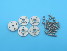 5pcs/lot Metal Servo Arm Plate Round 25T Robot Disc Matal Horns for MG995 MG996R Servos Robot Spare Parts Accessory