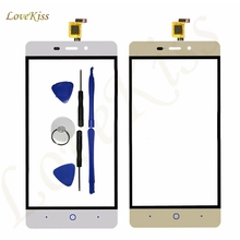 Lovekiss Front Touch Panel For ZTE Blade X3 D2 T620 A452 Touch Screen Digitizer Sensor LCD Display Outer Glass Lens Replacement(China)