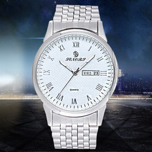 Free Air Mail !!! SENORS Week Date Dial Luxury Watch Men Gift High Quality Stainless Steel Quartz Sports Watches For Men Relogio(China)