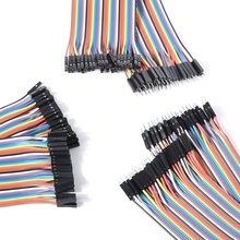 120pcs 30cm  female male DuPont cable line Jumper Connector Breadboard For Arduino kit