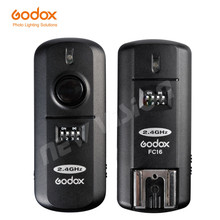 Godox 2.4GHz 16 Channels Wireless Remote Flash Studio Strobe Trigger & Receiver Shutter for Canon 5D 6D 7D 5D Mark III 60D 600D