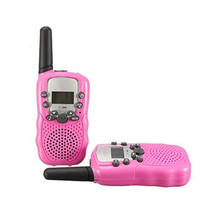 New Generation 99 private code pair walkie talkie T388 radio PMR446 radios or FRS/GMRS 2-way radio flashlight 2PCS/BOX