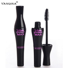1Pcs Waterproof Mascara Beauty Thick Eyelashes Makeup Eye Lashes Make Up Cosmetics Mascaras(China)
