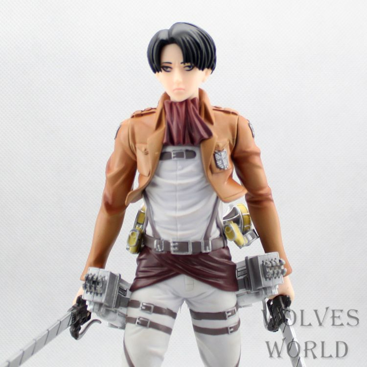 Free Shipping Attack on Titan Rivaille PVC Action Figure Collection Figure Toy 20CM ATFG045<br><br>Aliexpress