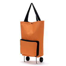Women Fashion Multifunction Tugboat Luggage Trolley Box Wheels Duffle Bag Foldable Travel Bags Large Capacity Clothes Organizer
