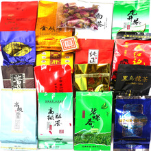 HOT! 18 Different Flavor Chinese Tea Ripe Puer Milk Oolong tea Tieguanyin,Dahongpao,Green tea,Ginseng Oolong,Longjing black cha