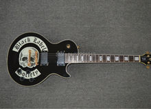 Popular Gib LP Custom Black label society model Electric Guitar Free shipping(China)