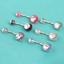 Alargador Orelha Factory Peice Anti Allergy Simple Lounger Titanium Earrings Ear Nail Belly Button Rings Navel Piercing Ombligo