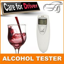 Free shipping Portable Breath Alcohol Analyzer, Digital Breathalyzer Tester,LCD Display in Two Units: %BAC & g/L PFT-641