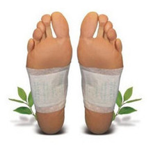 2pcs/pair Detox Foot Patch Pads Body Detoxify Toxins Feet Slimming Cleansing Herbal Adhesive Foot Care Tool #985