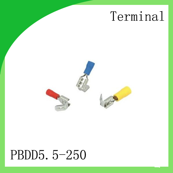 manfacturer Brass 1000 PCS PBDD5.5-250 cold-pressure terminal  Female terminal fittings for female - female connector<br>