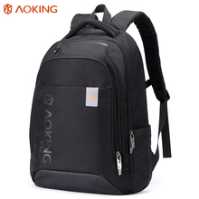 Aoking 2017 New Schoolbags Unisex Large Capacity Tear Resistant Backpack Men Women Casual Mochila Patent Design Laptop Backpack