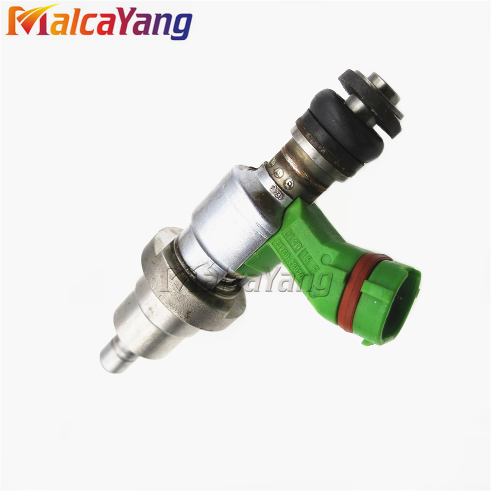 100% working flow test 12PCS fuel injector 23209-28070 fuel nozzle 23250-28070 for Toyota RAV4 Avensis(China)