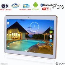 Android 6.0 Phone Call 10 Inch Tablet pc Original 3G Android Quad Core 2GB RAM 16GB ROM WiFi FM IPS LCD 2G+16G Tablets Pc 7 8 9(China)