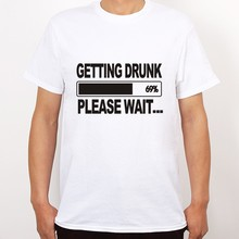 Getting Drunk Beer Stag Party Gift Funny Men Short Sleeve T Shirt Casual Plus Size T-Shirts Hip Hop Style Tops Tee S-2Xl
