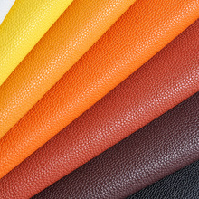 50x135cm High Quality Thick Pu Leather For Bag, Red Faux Leather Fabric, Diy Belts Chair Textile Pu Tissus,simili Cuir Tissus(China)