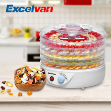 Excelvan Food Processors 5 Tier Electric Food Fruit Dehydrator Food Preserver Adjustable Temperature Control KYS-338 A(China)