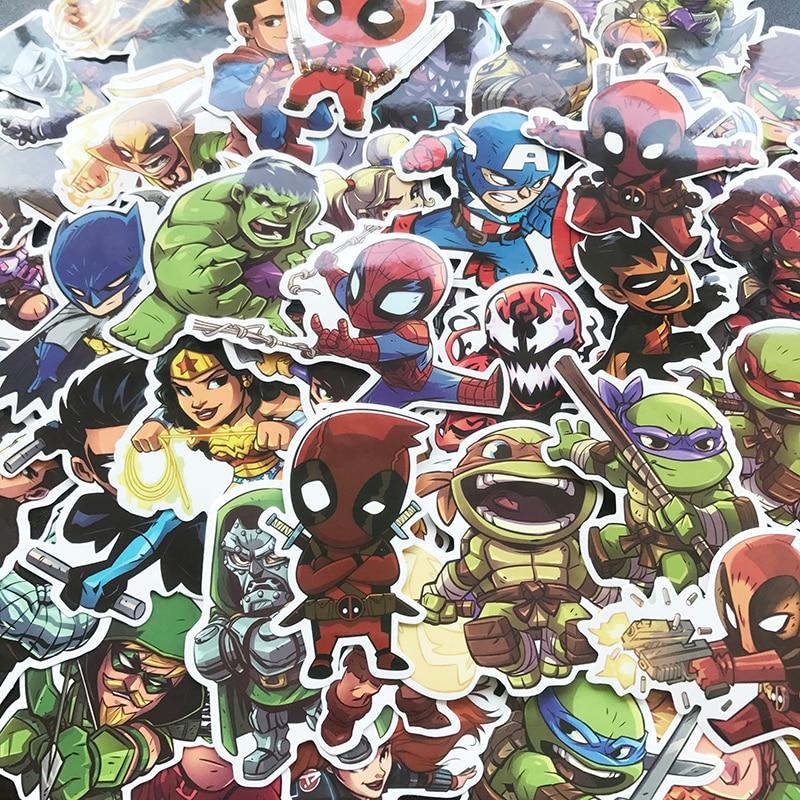 superhero2 50pcs 2
