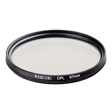 RISE 67mm Circular Polarizing CPL C-PL Filter Lens 67mm For Canon NIKON Sony Olympus Camera(China)