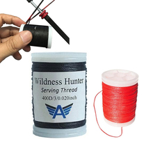 "120m/Roll Archery Bowstring Serving Thread 0.02"" Thickness 400D Serving for Various Bow string Archery Supplies Protect String(China)"