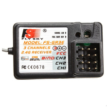 Buy FBIL-FlySky FS-GR3E 3CH 2.4GHz Receiver GT2 GT3 GT3B GT3C GR3C RC Car Boat for $6.43 in AliExpress store
