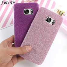 Bling Glitter Phone Case for Samsung Galaxy S8 Plus S7 S6 Edge Silicone Shining Back Cover for Samsung Galaxy A5 A3 2017 2016