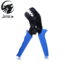Jelbo Crimping Tool Mini Terminal Crimping Pliers Multitool Clamp Manual Wiring Insulation Pliers Hand Tools Crimping Blue(China)