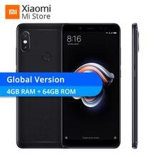 """Global Version Xiaomi Redmi Note 5 4GB RAM 64GB ROM Smartphone Snapdragon 636 Octa Core 5.99"""" Full Screen 4000mAh OTA Update CE"""