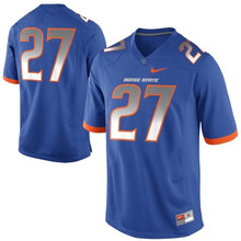Nike Boise State Broncos Jay Ajayi 27 College Ice Hockey Jerseys-Black Size M,L,XL,2XL,3XL(China)