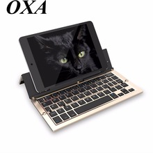 Universal Mini Wireless Bluetooth 3.0 Folding Foldable Keyboard for iPhone iPad iOS Android Smartphone Tablet Bluetooth Keyboard