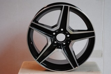 "19"" C63 AMG BLACK RIMS +35MM ET FOR MERCEDES BENZ E CLASS E320 E350 E500 E550 4MATIC W814"