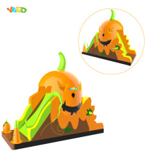 Pumpkin PVC Inflatable Castle Slide for Halloween(China)