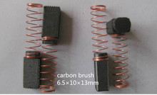carbon brush  6.5*10*13mm      for electric drill   /Washing Machine brush ,FREE SHIPPING  5pairs