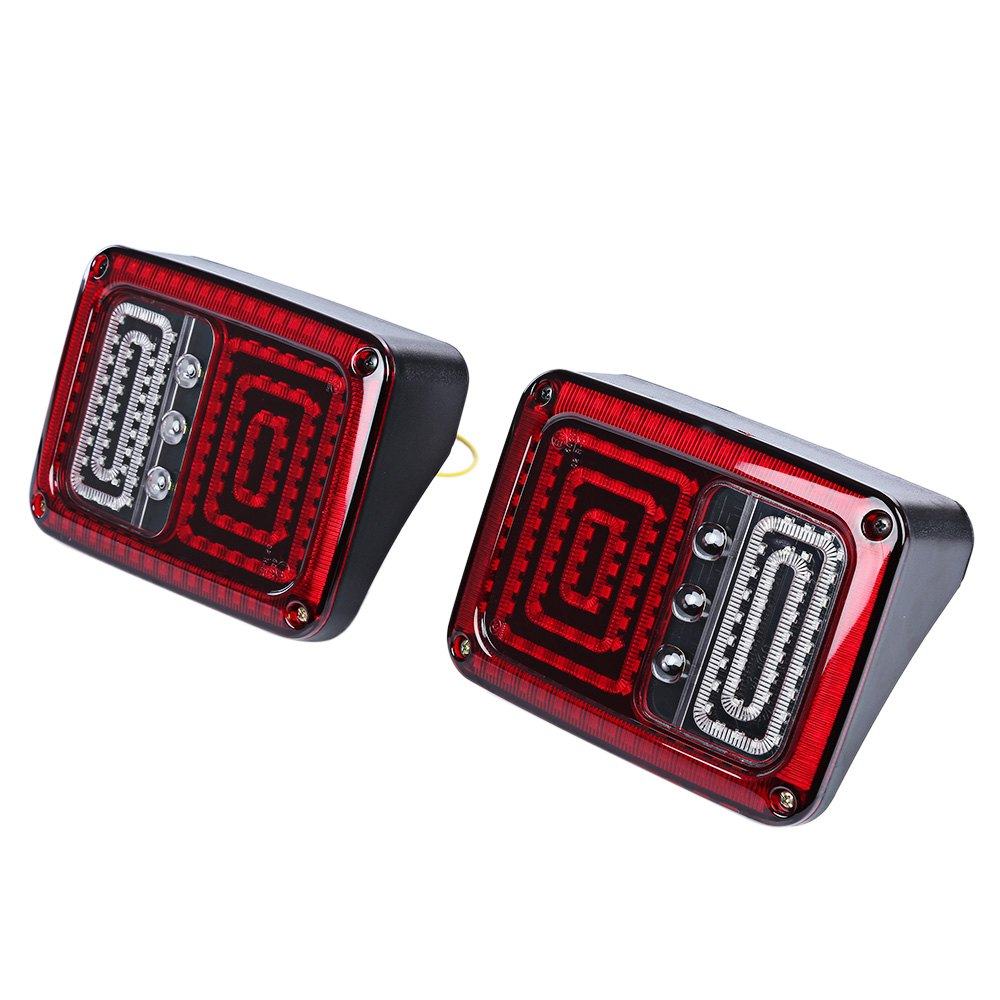 2pcs OL - JT02 Car LED Break Stop Tail Light Super Bright Improve Road Safety for Jeep Wrangler Withstand Shock and Vibration<br><br>Aliexpress