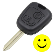 Key Shell For Peugeot Partner Expert Boxer 2 Buttons Key Fob Case Cover ( SX9 type ) Free Shipping