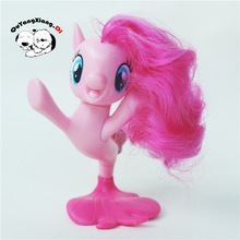 P8-021 Action Figures 8cm Little Cute Horse Model Doll The Little Mermaid Pinkie pie Anime Toys for Children(China)