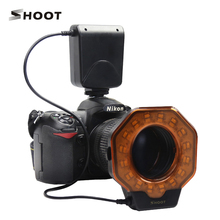 Macro Ring Flash Light for SONY Nikon Canon EOS Pentax Olympus All Digital SLR Cameras diameter of 52/55/58/62/67/72/77mm