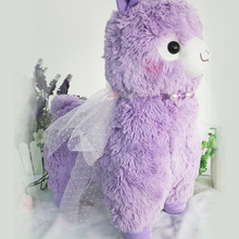 Kawaii Soft 40CM Peluche Alpacasso Alpaca Toys Purple Colors Sheep Stuffed Animal Japan Plush Baby Kids New Years Children Gift