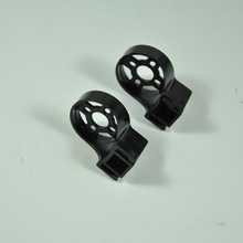 2PCS Plastic RC Airplane Motor Mount Base Support 11 mm Hole Black(China)