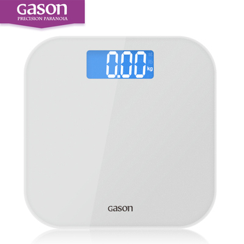 GASON A4  Bathroom floor scales smart household electronic digital Body bariatric  LCD display Division value 180kg=396lb/0.1kg