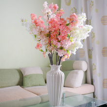 Decorative Artificial Plants And Flowers Peony Home Flores Pompon Decor Yarn Art Stamen Plastic Artificial Flowers Wreath QQC140(China)
