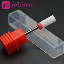 MAOHANG High quality 1pcs Ceramic Nail Drill Bit For Nail Art Electric Drill Manicure Machine Nail Tools
