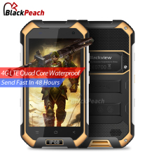 Blackview BV6000S 4G Mobile Phone 4.7 inch HD IPS MT6737T Quad Core Android 6.0 2GB RAM 16GB ROM 8MP Cam Waterproof Smartphone