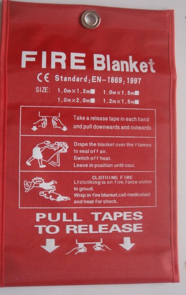 1MX1M fire blanket, welding blanket factory use,  escape special fire equipment, fire fighting cloth.<br><br>Aliexpress